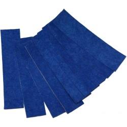 Feutre bleu 10 cm