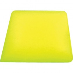 Square Corner yellow hard card