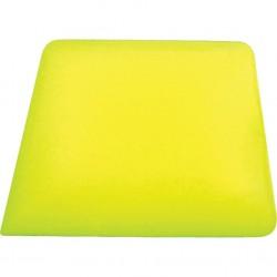 Square Corner yellow hard card